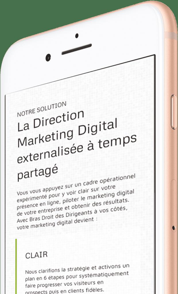 Marketing Digital Externalisée sur Mobile