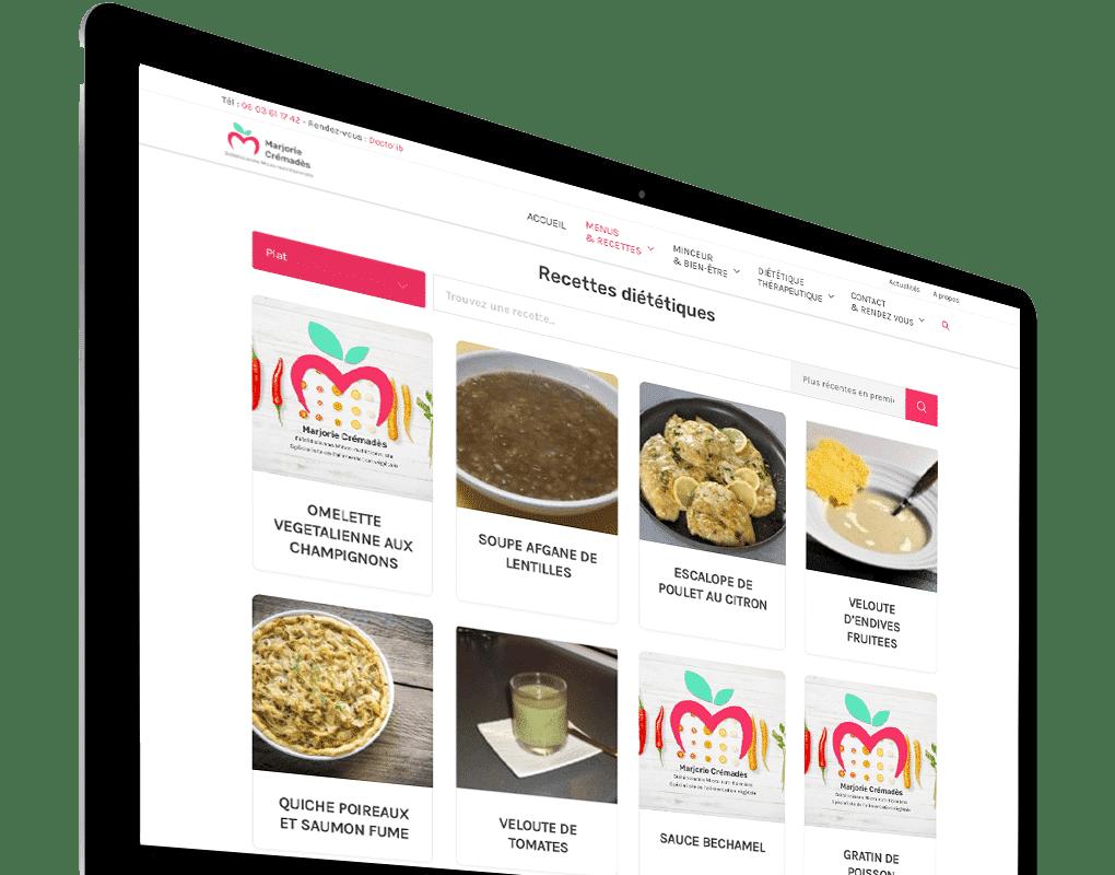 Site recette diététique